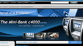 My pioneering work on Tranax Website as featured on ATM Marketplace